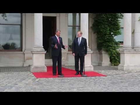 Ireland: Trade Talks, Tribute to Berkeley Victims
