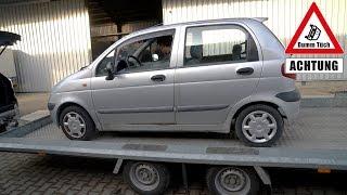 Wir holen einen Daewoo Matiz ab | Dumm Tüch