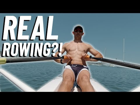 I Tried REAL Rowing!