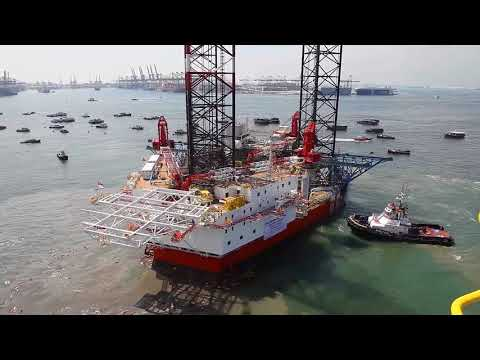 Debut Jack up Barge or Rig