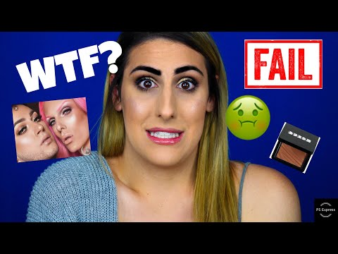 Full Face using SH *T Makeup Products! | Jeffree Star, Benefit.... thumbnail