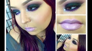 Look:  Black Berries (Plum black smokey eyes with lilac lips) Thumbnail