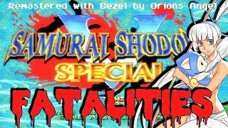 Samurai Shodown V Special - All Fatalities Remastered HLSL + Bezel 60fps!