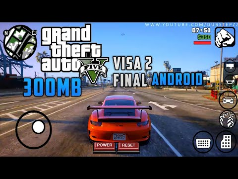 |300mb|GTA V Visa 2 Final Mod Android|GTA 5 (apk+data) Android|GTA 5 Graphic Mod Gta Sa Android