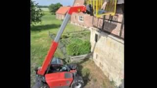 7 Teleskoplader im Vergleich 2011: Claas Deutz Dieci JCB Manitou Merlo Weidemann  -  Video .....Oeni
