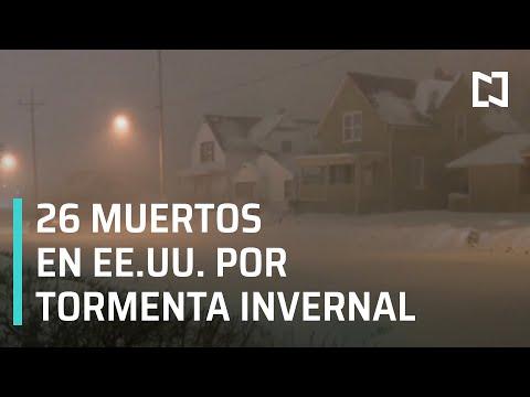 Tormenta invernal en Estados Unidos deja al menos 26 muertos - Las Noticias