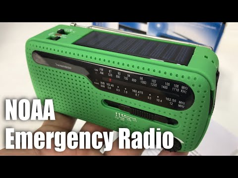 Heartty Weather Alert Solar Hand Crank AM/FM NOAA Survival Radio with Charger and Flashlight Review