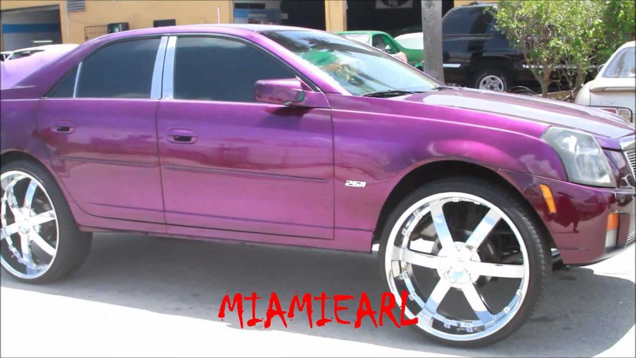 Sudamar Paint Candy Purple Cadillac Cts On 26 S Color