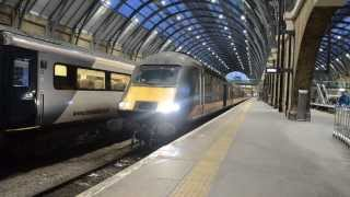 Grand Central Class 43 HST 43423 & 43480 Depart London King