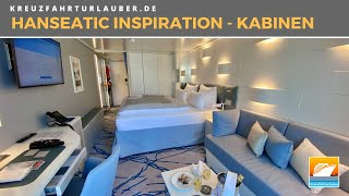 HANSEATIC inspiration - Alle Kabinen & Suiten an Bord im Rundgang - Hapag-Lloyd Cruises
