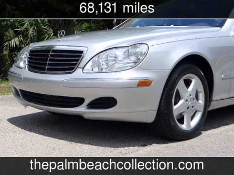 2005 mercedes benz s430 4 3l used cars west palm beach for Mercedes benz west palm beach used