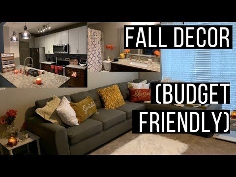DECORATE MY APARTMENT FOR FALL 2019 // BUDGET FRIENDLY FALL DECOR