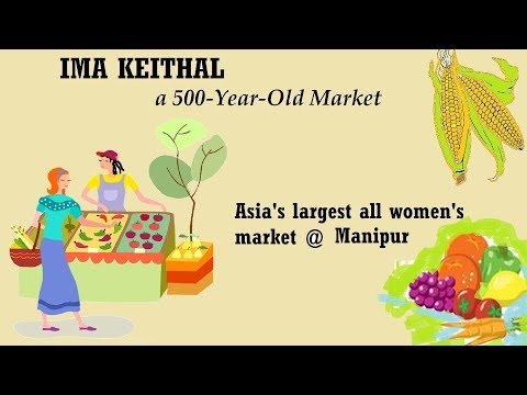 Ima Keithel - the all-women market in Manipur