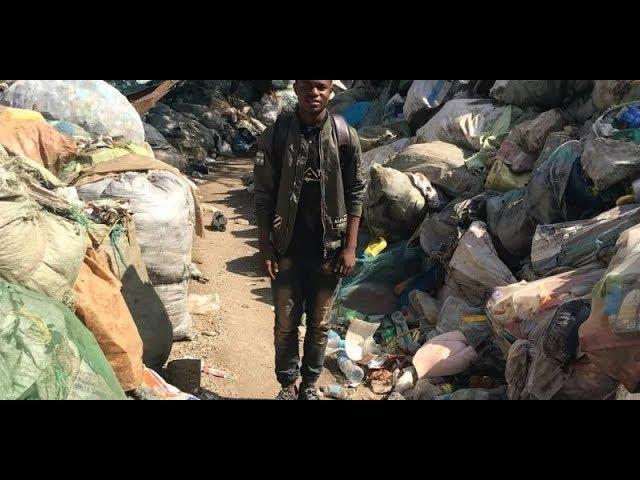 Transforming trash into building material