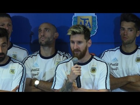Football: Messi's media fury after Argentina sink Colombia