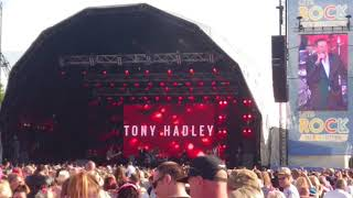 Tony Hadley Barricades Let's Rock Scotland 2018