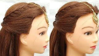 Cute festival hairstyle for girls||#Festival hairstyles for long hair ||#hairstyles