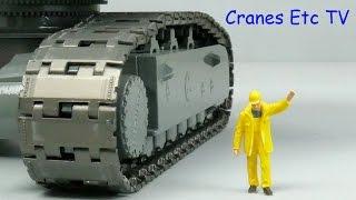 YCC Liebherr R 9800 Metal Tracks by Cranes Etc TV