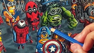 If Minions were Marvel Characters