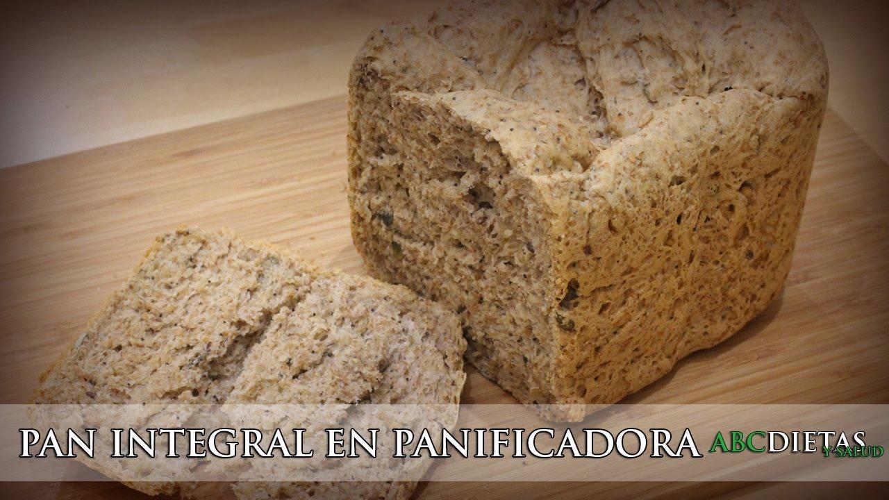 Como hacer pan integral en maquina