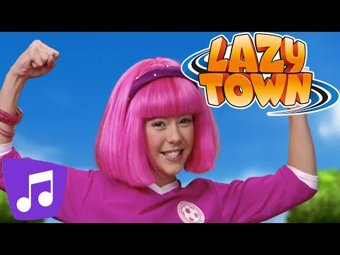 Lazy Town | All Together Music Video