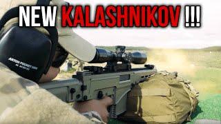 NEW Kalashnikov Concern RPK-16 Machine Gun, VSV-338 Sniper Rifle, SVK Marksman Rifle & PL-15 Pistol