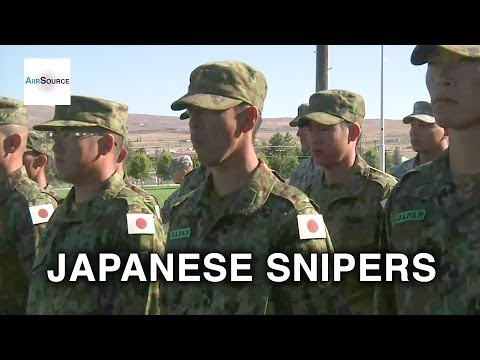 Japan Ground Self-Defense Force Snipers - Sniper Training Awards Ceremony