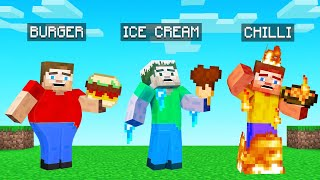 We Added 10 NEW FOODS To MINECRAFT! (dangerous)