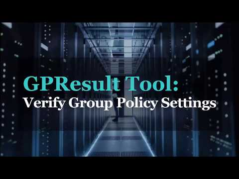 GPReult Tool - How To Check What Group Policy Objects Are Applied