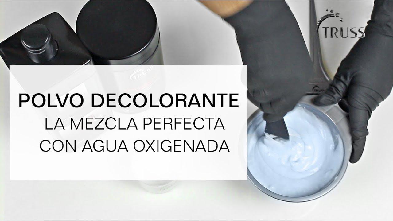 Polvo Decolorante Cómo Realizar La Mezcla Perfecta Con Agua