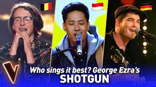 RELAXING George Ezra's SHOTGUN covers in The Voice | Who sings it best? #12