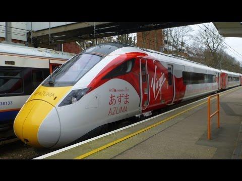 Virgin Trains East Coast Azuma Train In Action!
