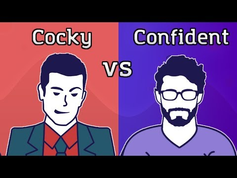 Masculine Man: Confident vs Cocky