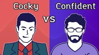 Confident vs Cocky (Animated)