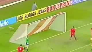 Tara Galilor(Wales)-ROMANIA 1-2 Qualifications World Cup 1994 2st half .mp4
