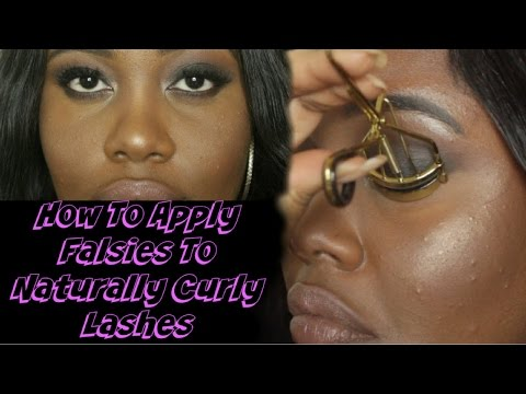 Struggling With Curly Lashes? | Easy Tips For Applying False Lashes (Beginner Friendly) | Keira Anya thumbnail