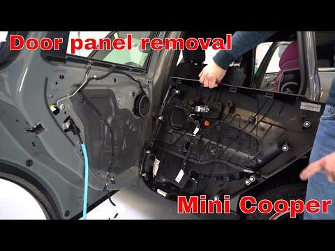 Mini Cooper Clubman Door Panel Removal Youtube