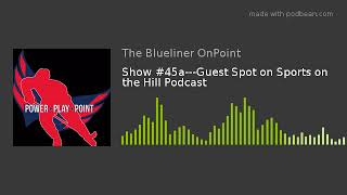 Show #45a---Guest Spot on Sports on the Hill Podcast