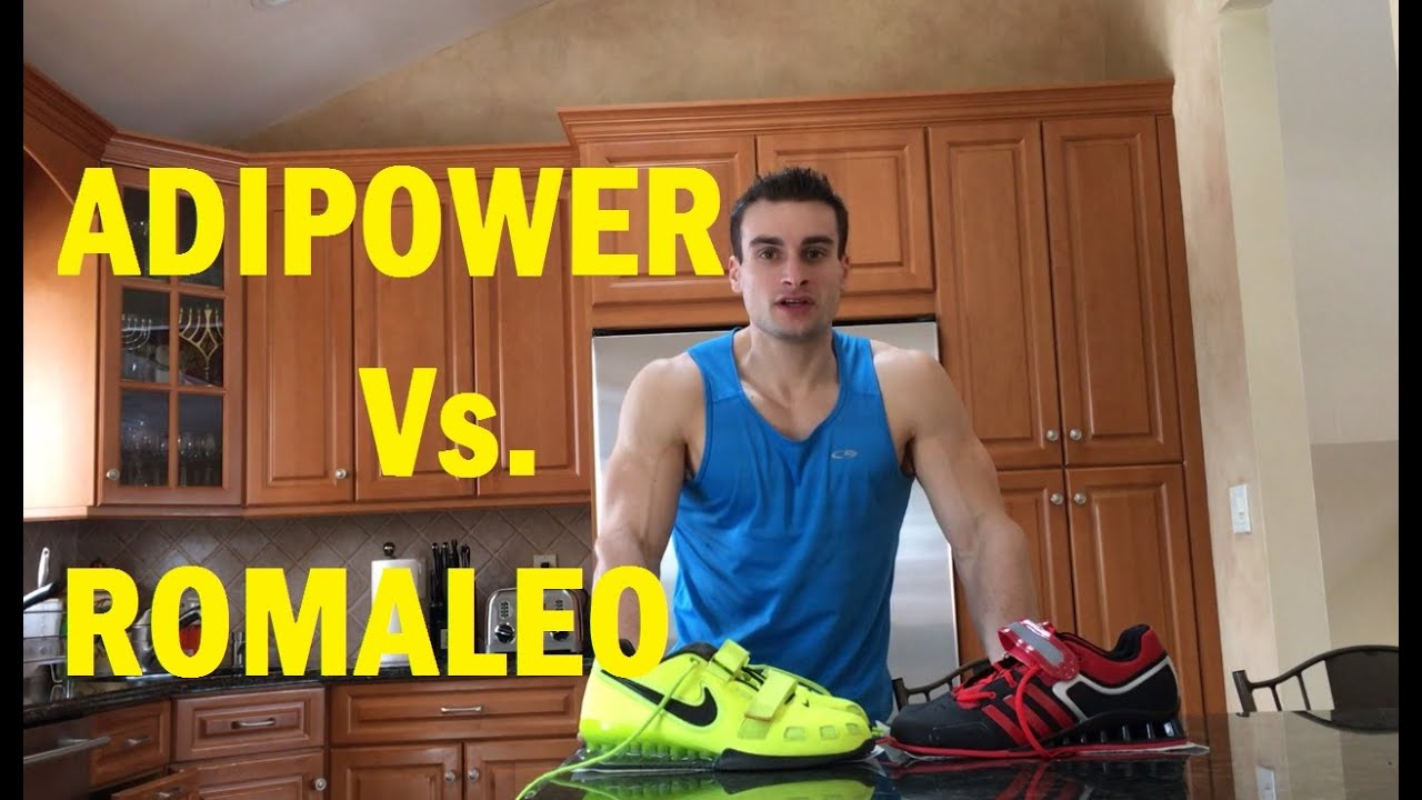 32bb069d453c Nike Romaleos 2 vs. Adidas Adipowers - YouTube