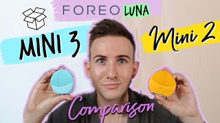 FOREO LUNA Mini 2 Vs LUNA Mini 3 Comparison + Review and Experience (CC/Subtitled 5+Languages)