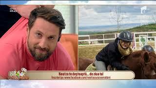 Râzi cu lacrimi! Dani Oțil și Răzvan Simion, sfaturi de călărie pentru începători