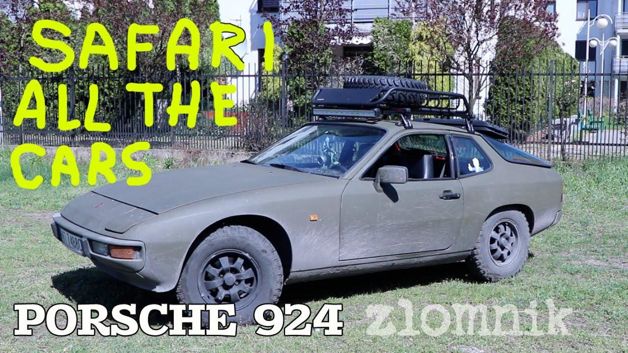 Złomnik: Porsche 924 SAFARI ALL THE CARS