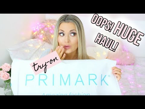 HUGE! TRY-ON PRIMARK HAUL FEBRUARY 2018 | GEM LO VALENTINE