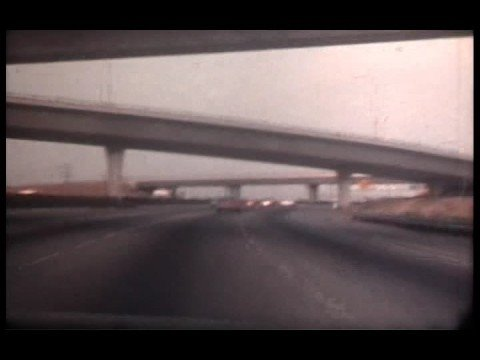Los Angeles area freeways - 1975
