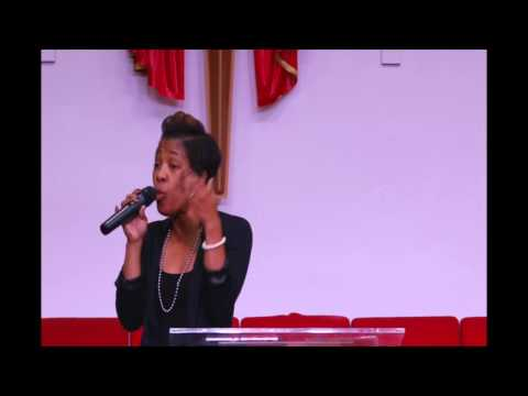 First Lady Rev Andrea Johnson - Before An Advanced Window