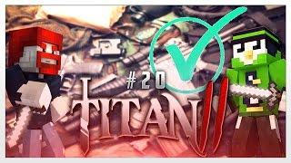 Op-Ausrüstungsphase? Check!  - Minecraft : Titan 2 #20 | Fabo