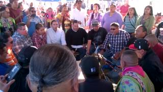 Thunder Hill @ Red Mountain Powwow..video 2
