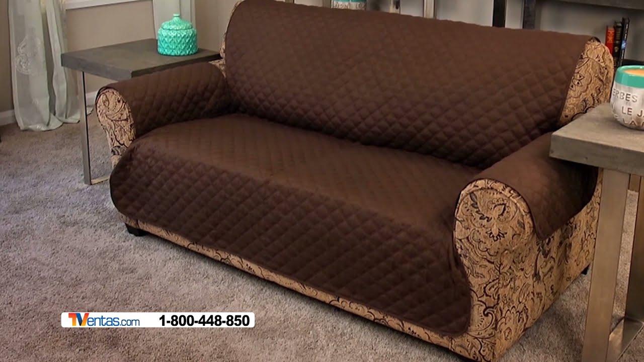 Couch coat youtube for Cobertor para sofa