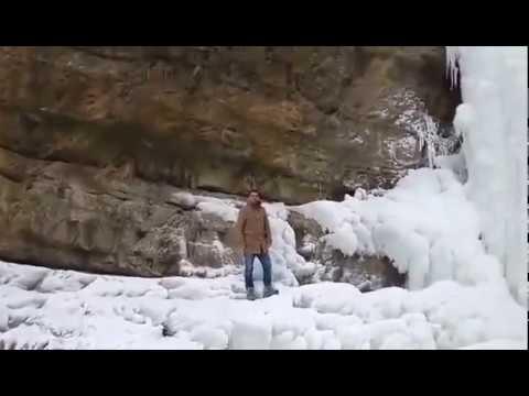 Ujvara Mirushes e ngrire 2017 beautifull winter snow in Kosovo