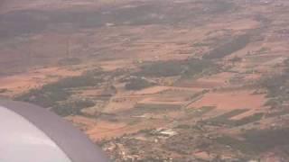 Landing at Aeroporto de Palma de Mallorca - 24th July, 2010